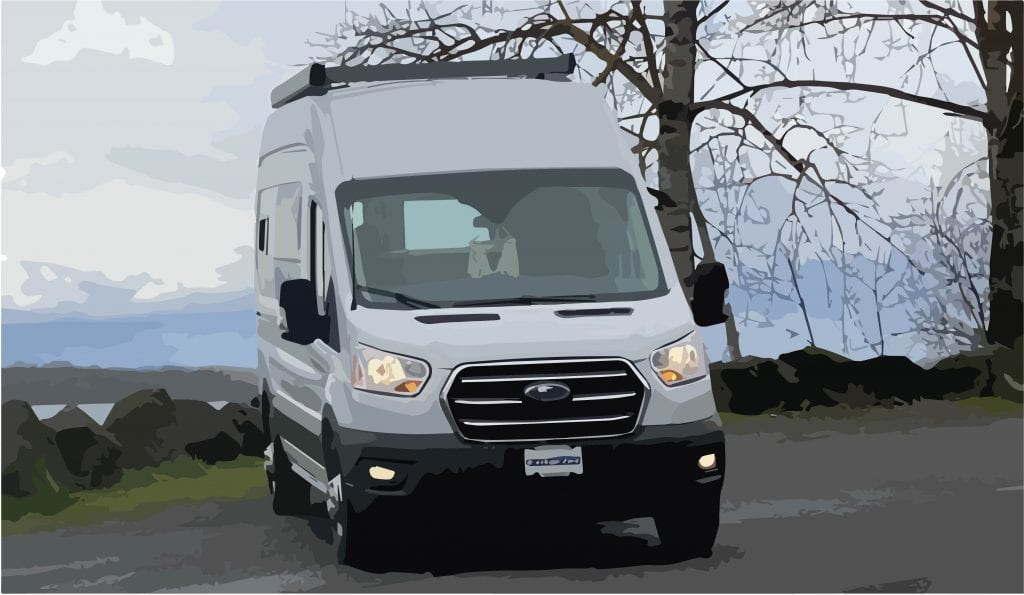 2021 Ford Transit 148 hr AWD Adventure Camper Van Conversion in Portland and Vancouver
